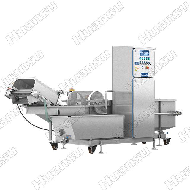 净菜清洗机在食品加工企业中的应用