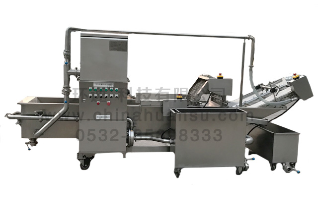 大型蔬菜清洗机FX-800,清洗干净