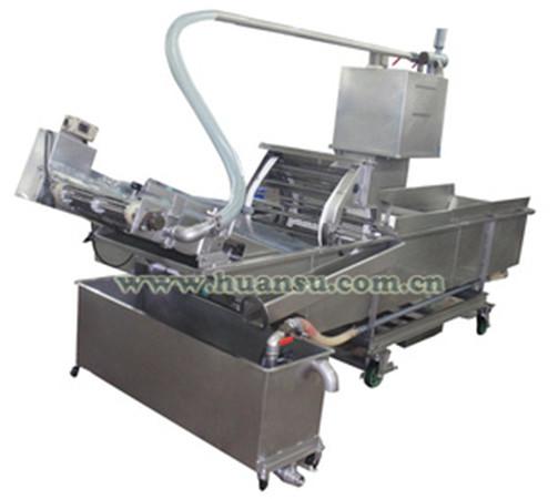 专业蔬菜清洗机FX-800,工作效率高